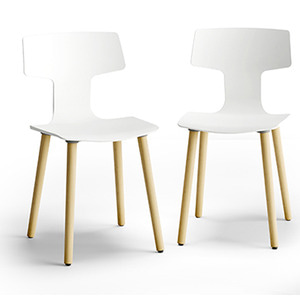 CHAIR SPLIT GL/WHITE