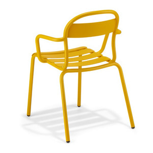 ARM CHAIR STECCA 2/YELLOW