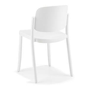 CHAIR PIAZZA1 / WHITE
